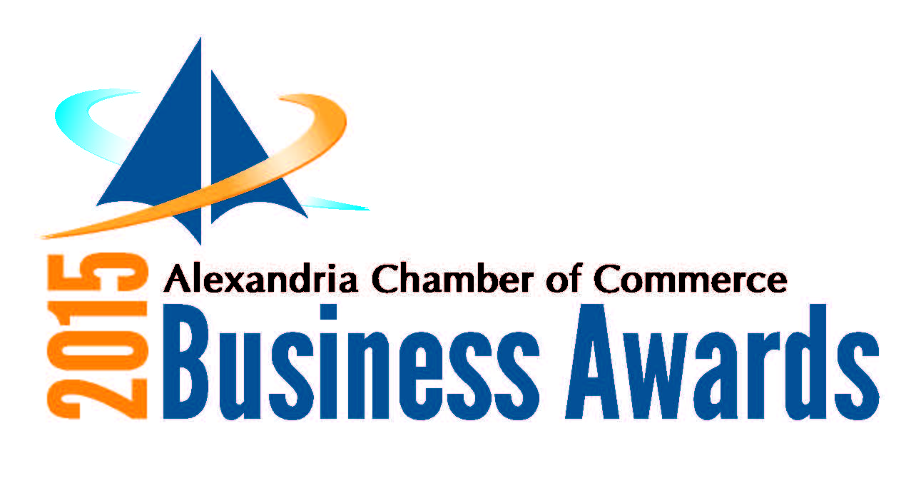 Alexandria Chamber of Commerce Business Awards logo