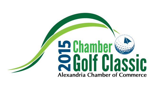 Alexandria Chamber of Commerce Golf Classic Logo